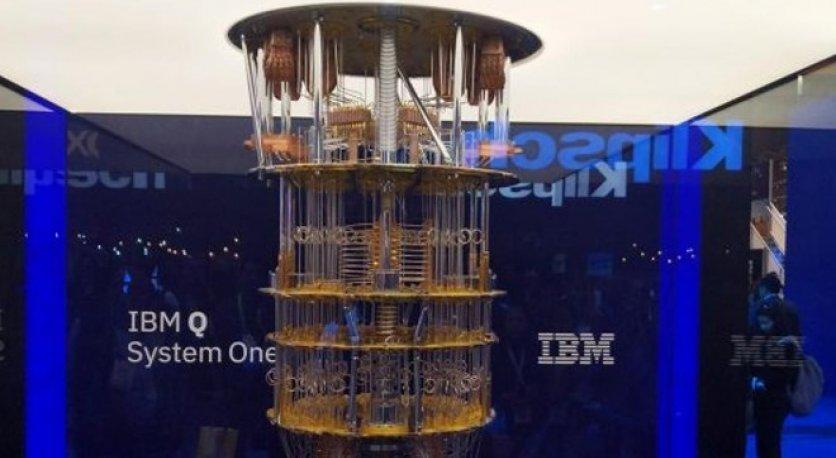 IBM yeni kuantum bilgisayarını tanıttı