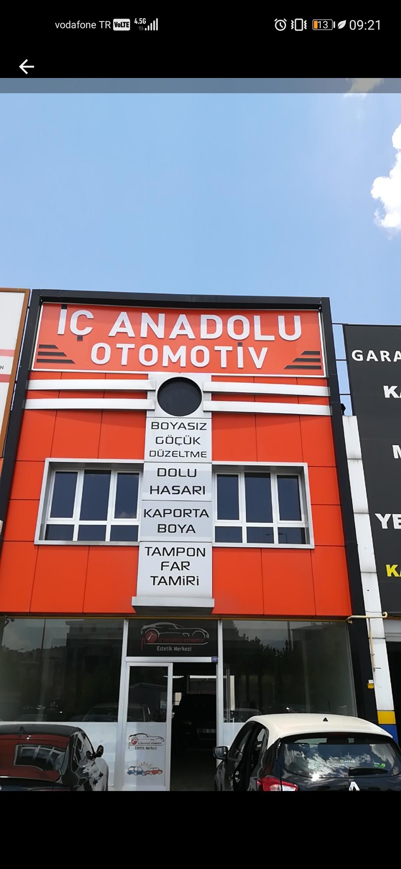 Göçük Düzeltme Boyasız Kaborta Düzeltme İç Anadolu Otomotiv Kayseri