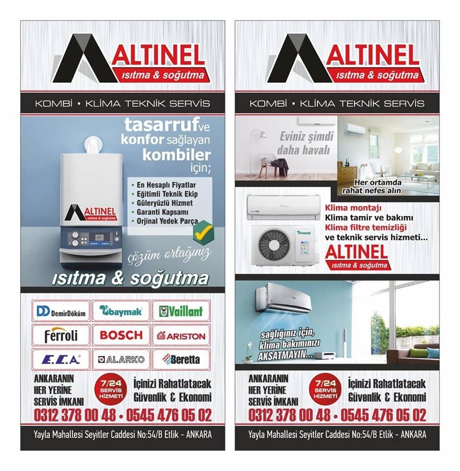 ALTINEL KOMBİ KLİMA