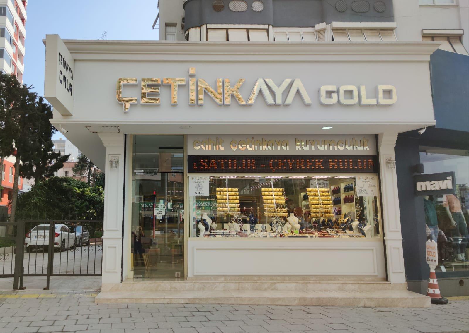 ÇETİNKAYA KUYUMCULUK GOLD