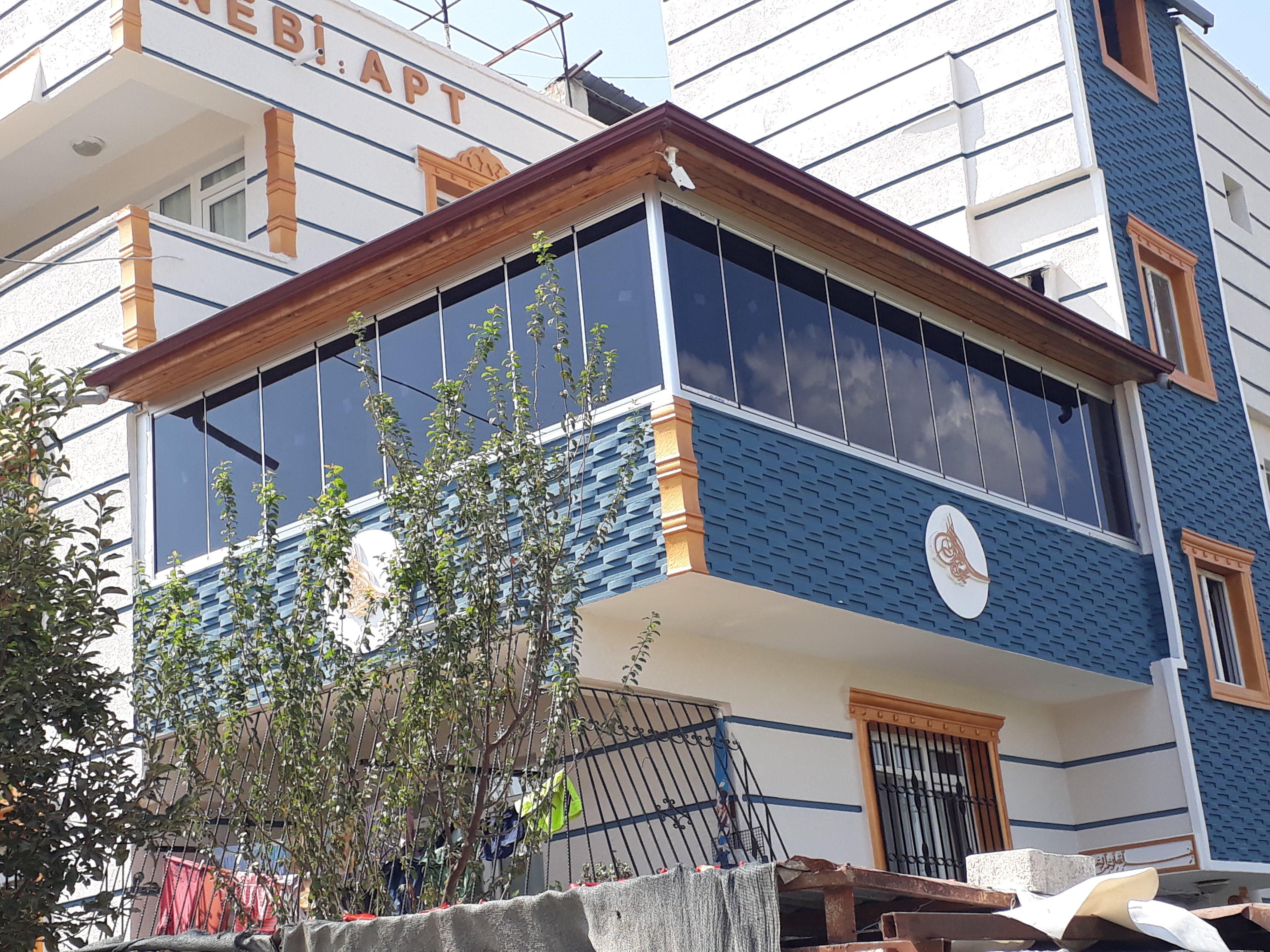 KLas Cam Balkon Yapı dekorasyon Alimünyum Doğrama