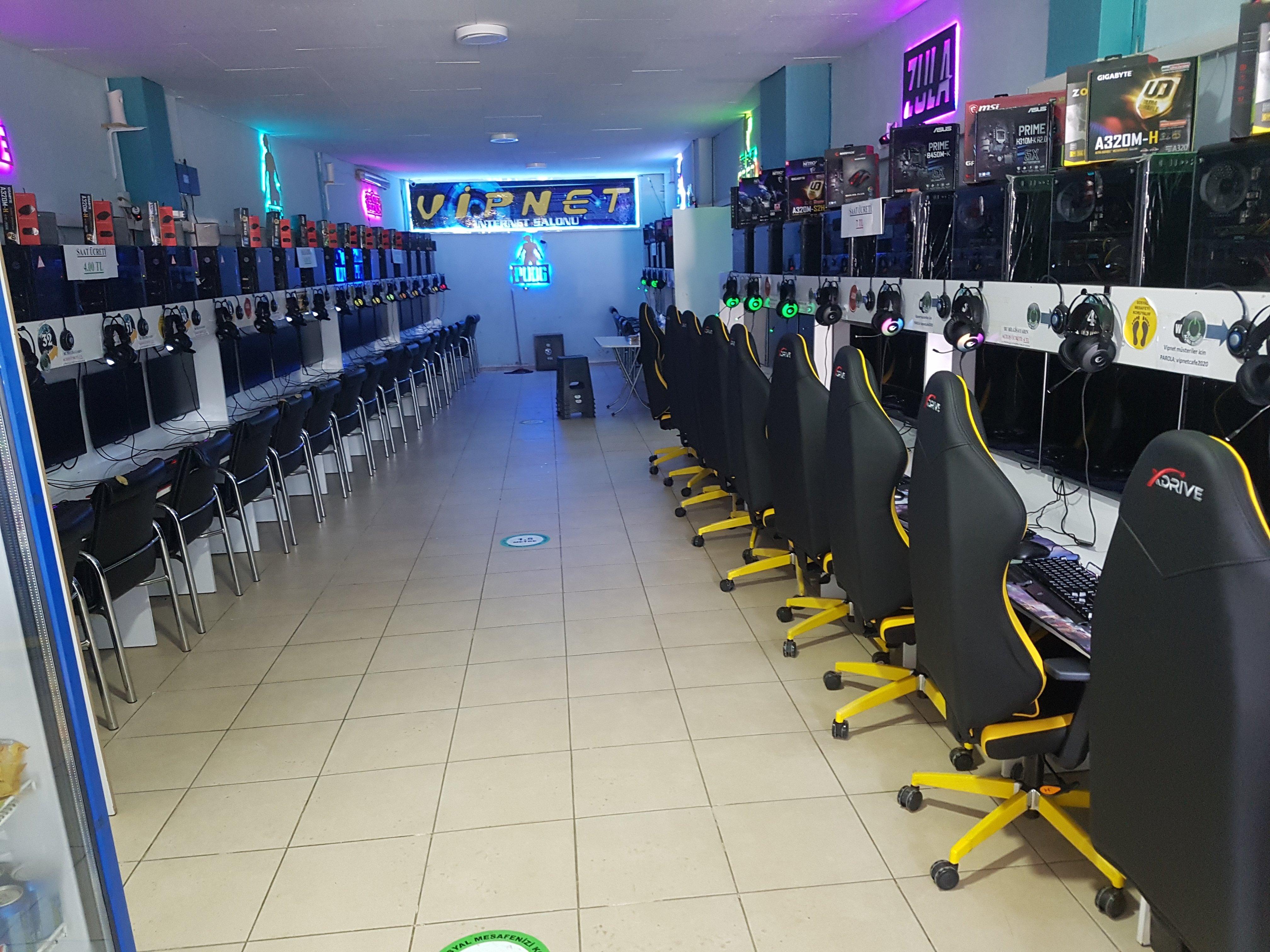 Vip internet salonu