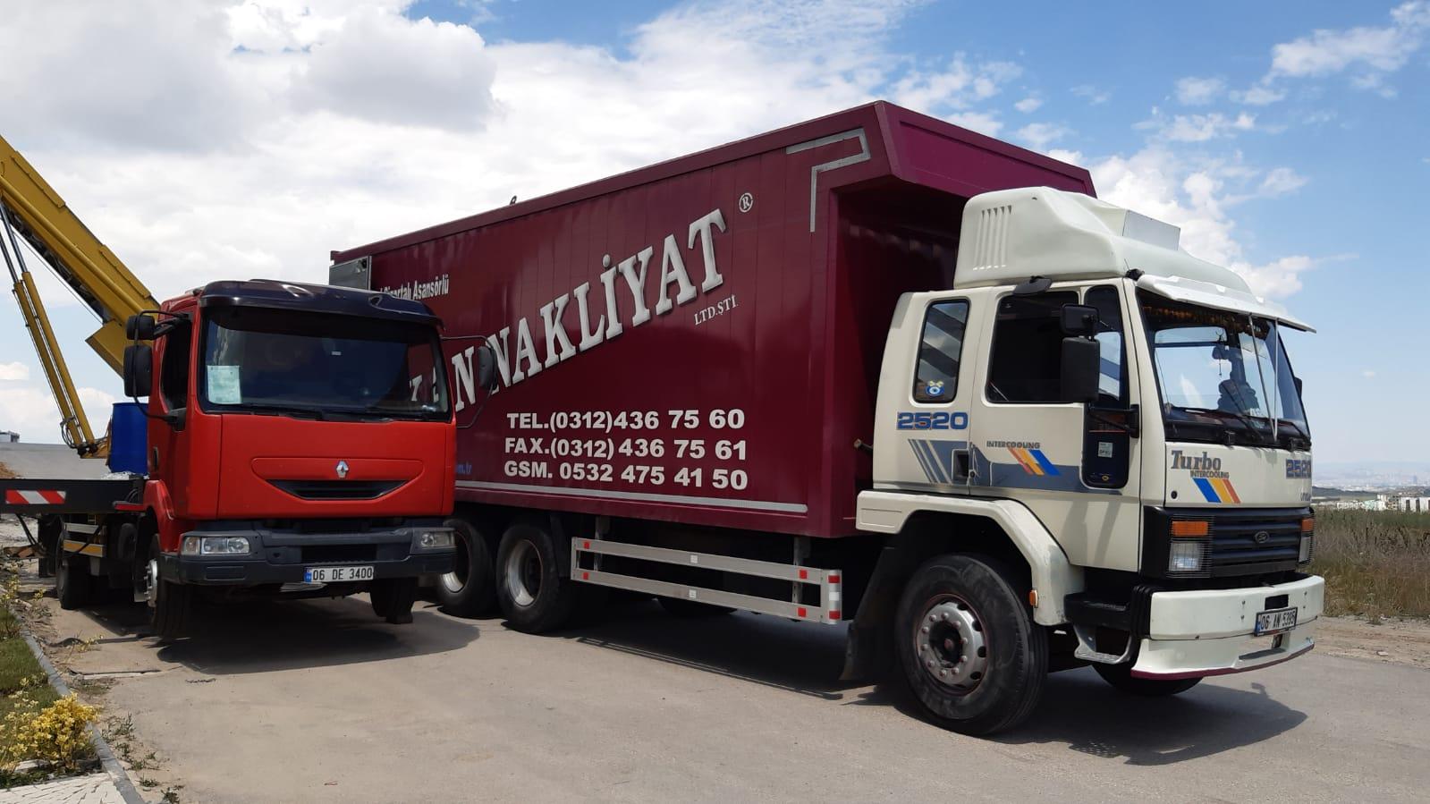 Ankara İzmir Nakliyat, Ankara İzmir Eşya Taşımacılık