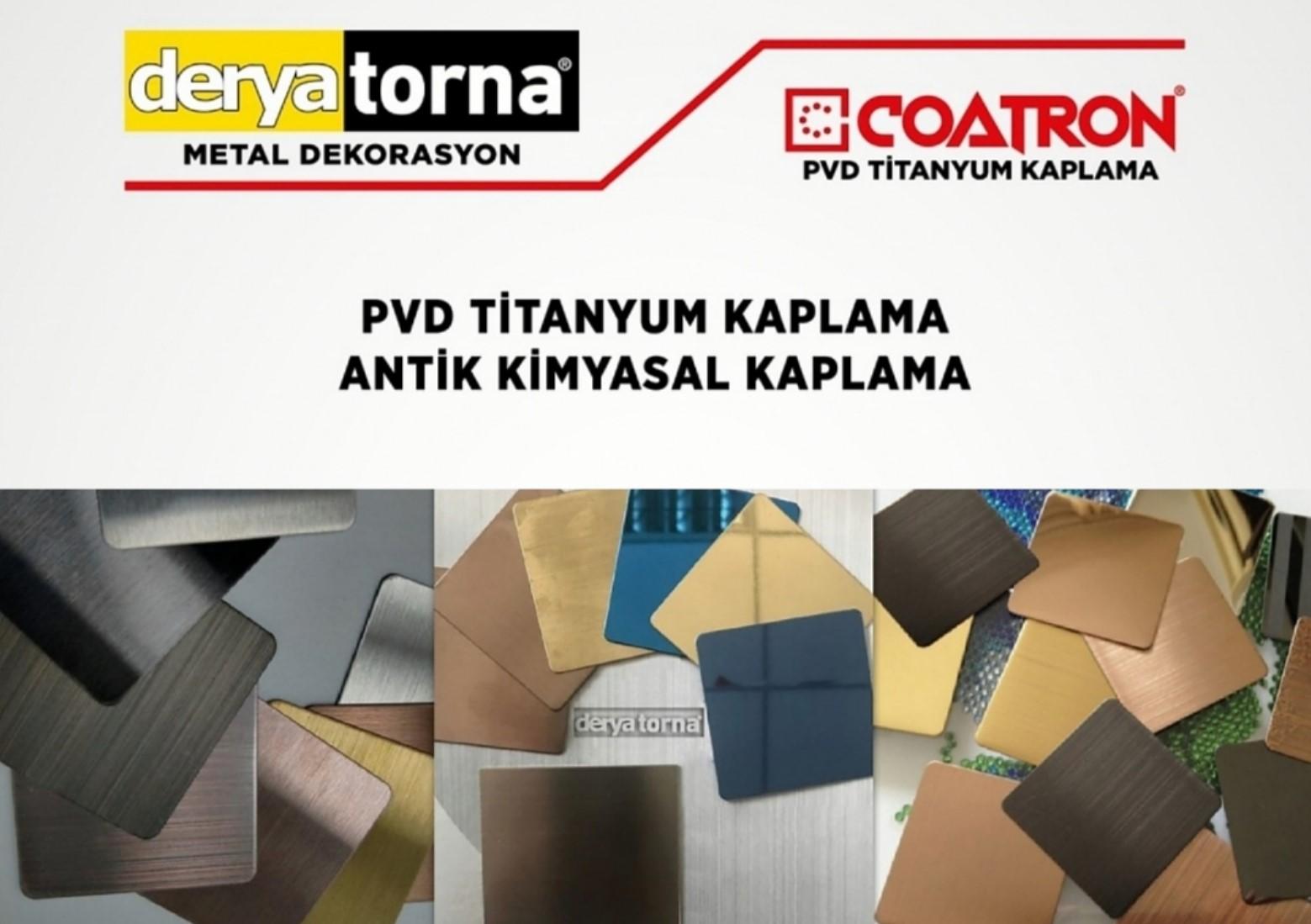 Derya Torna-OSTİM COATRON PVD Titanyum Kaplama