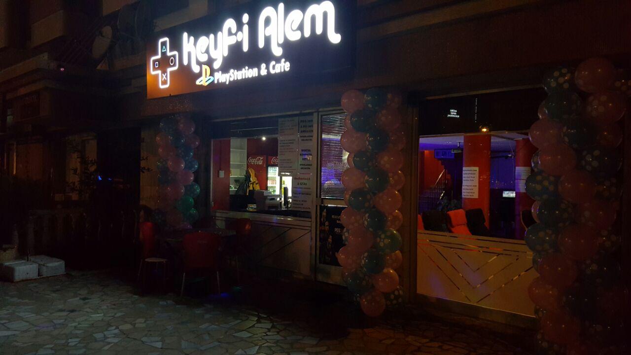 Keyfi Alem Playstation Cafe