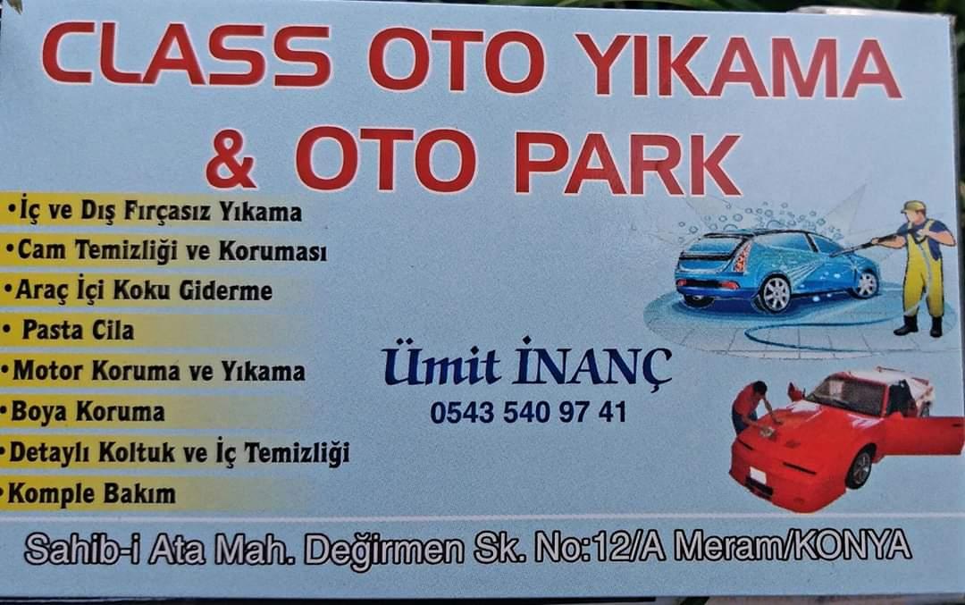 CLASS OTO YIKAMA OTO PARK